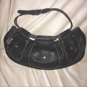 LANCEL PARIS Croissant hobo bag